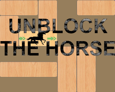 Move blocks to let the horse out