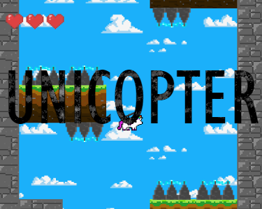 Help Unicopter get through each level